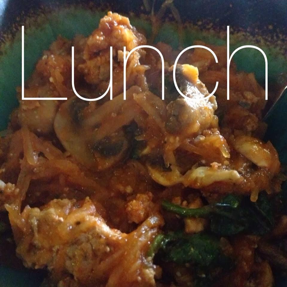 lunch,spaghetti squash, spaghetti, how to cook a spaghetti squash