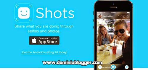 Comparte tus selfies que tomes en tu iPhone en la red social Shots