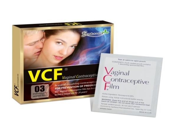 màng phim tránh thai VCF/ Biện pháp tránh thai mới