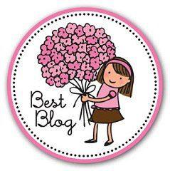 2 premios Best Blog, concedidos por Delicias Con Encanto y Cuquiscake