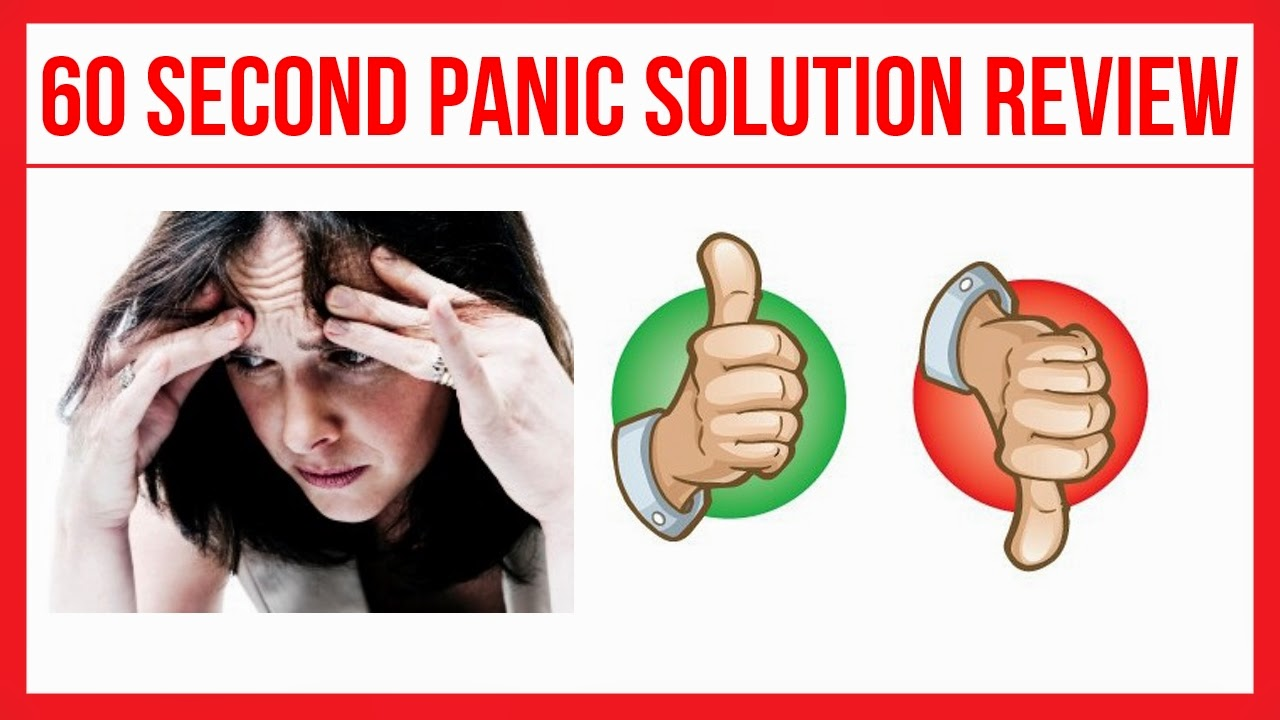 Experinced 60 Second Panic Solution Honest Review – Scam or True?