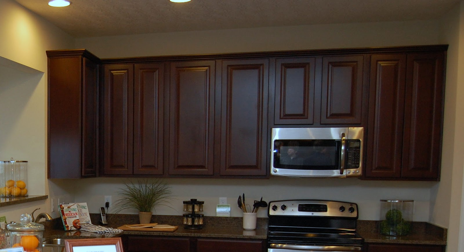 Ryan homes kitchen cabinet color choices ryan homes for Colour choice for kitchen