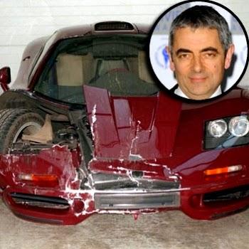 Applecookies Mr Bean Star Rowan Atkinson Crashes 1 2
