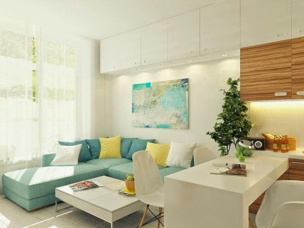 29 metrekarelik ferah ve d zenli bir ev for L salon dekorasyonu