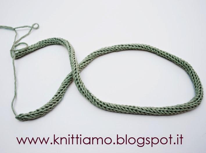 Creare una collana con il filo di cotone