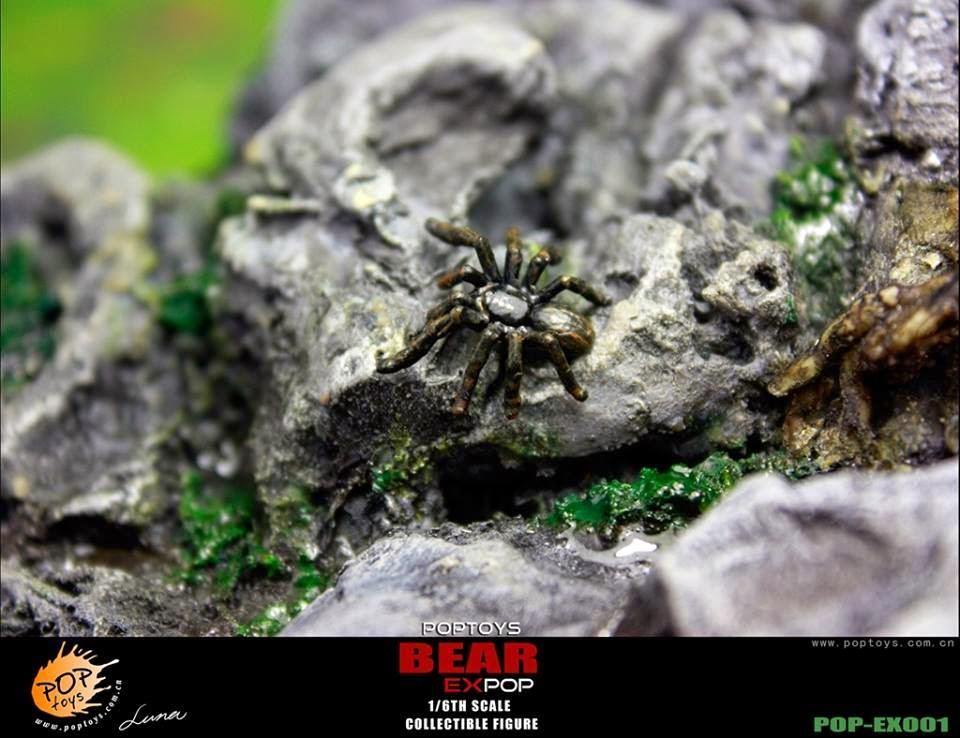 [POPTOYS] (Bear Grylls) 1/6 EX001 Wildness Survivor. Pop28