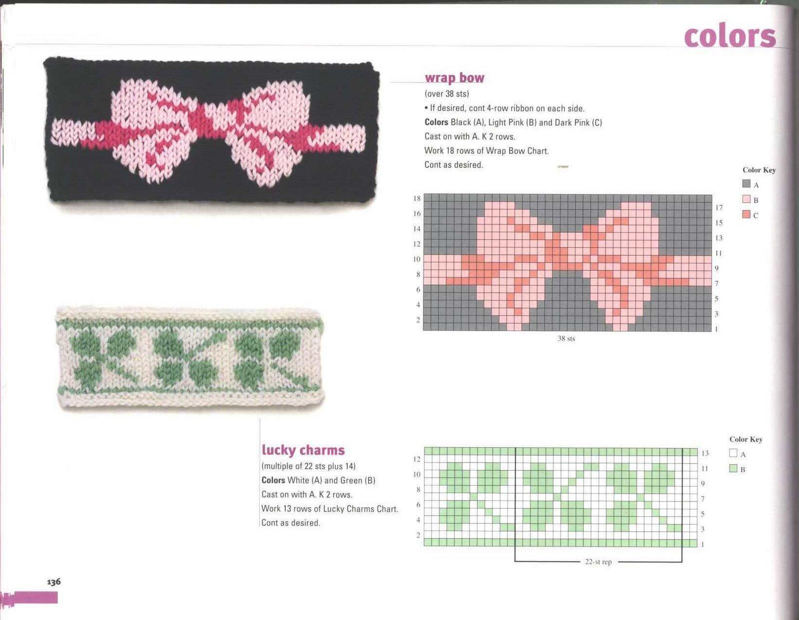 рисунки и схемы для вязания ковриков