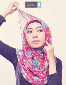 ... 2013 07 Tutorial Jilbab Praktis Pashmina Sifon Terima Kasih Download