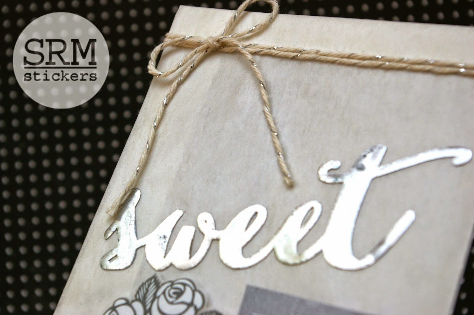 SRM Stickers Blog - Sweet Love Wedding Gift by Lorena - #glassinebag #shimmertwine #twine #stickers