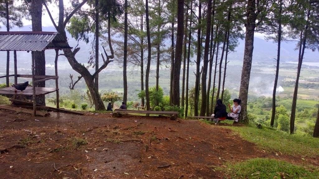 panorama angin berhembus kabupaten solok