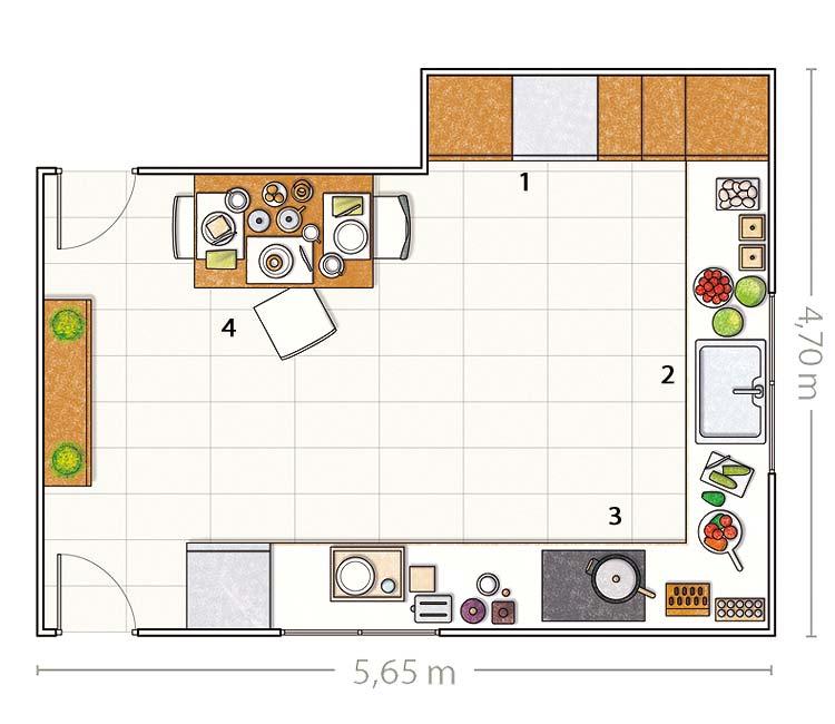 Planos de cocinas cheap m en esta cocina que comparte Planos de gabinetes de cocina gratis