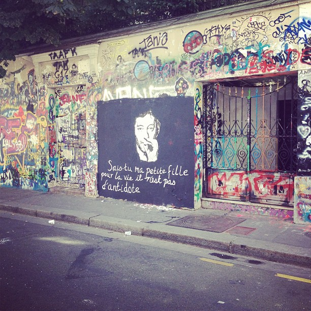 serge gainsbourg and jane birkins house on rue de verneuil, paris