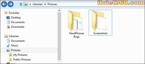 Hướng dẫn cách chụp ảnh màn hình trên Windows 8