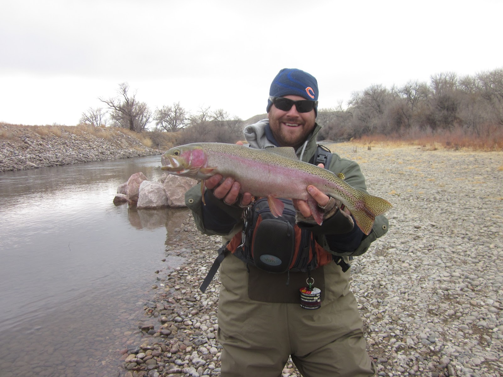 Arkansas river tailwater fly fishing report february 2013 for Ar fishing report