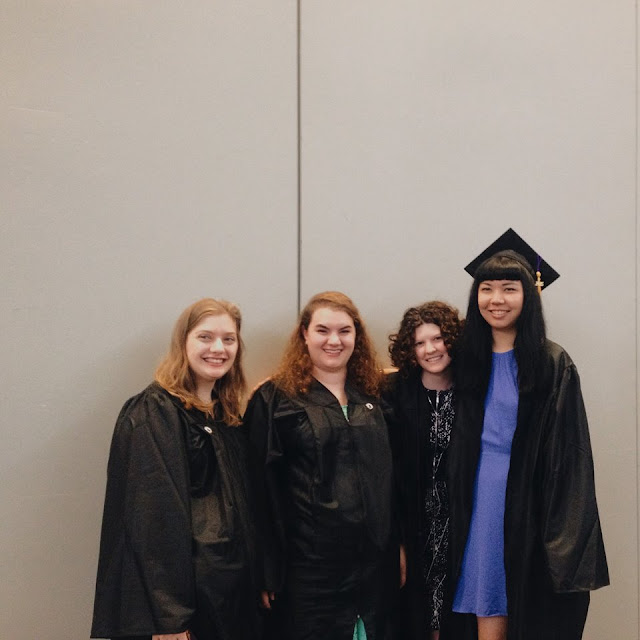 Graduation Recap--Dream Big, Take Small Steps | Pennies & Paper Blog