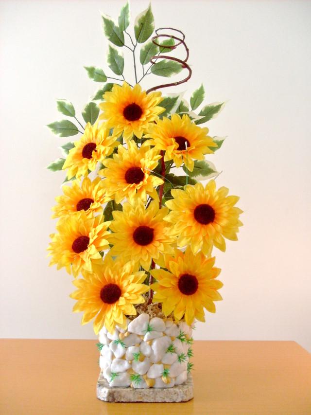 Adesivo De Borboleta Para Geladeira ~ Bebeca Artesanato Arranjo de Flores Girassol