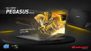Spesifikasi Xenom Pegasus PS15C-DL11
