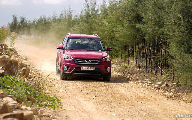 Xe Hyundai Creta - crossover cho đô thị