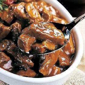 Beef Tips in Mushroom Sauce Crock Pot Recipe