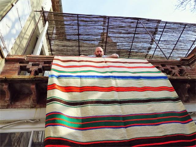 Tapis couverture berbere ©lovmint