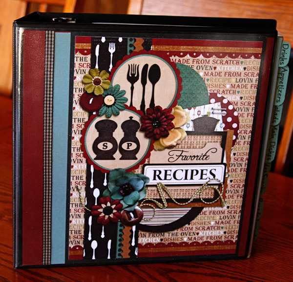How To Make A Recipe Book Cover : My boys don t eat pasta recipe binder