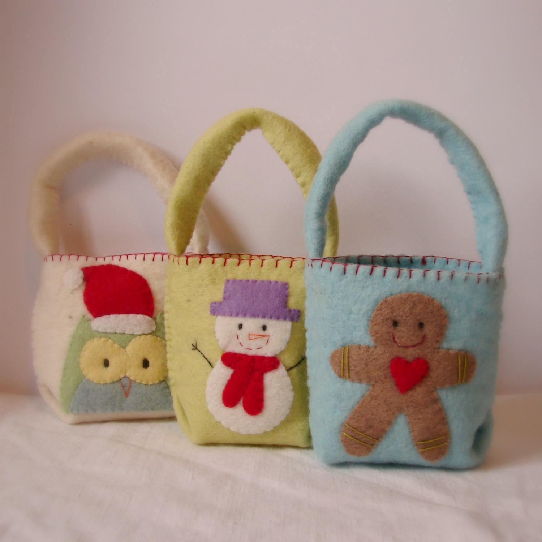 Roxy Creations: Christmas gift bags