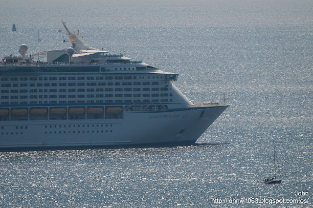 adventure of the seas, royal caribbean, puerto de vigo