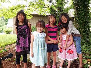 Elli, Eliza,Enya Li, Eva, Xiaoyun