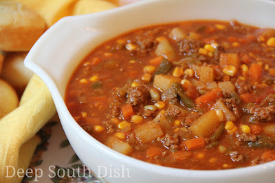 Deep south dish ground beef hobo stew for What can you cook with hamburger meat