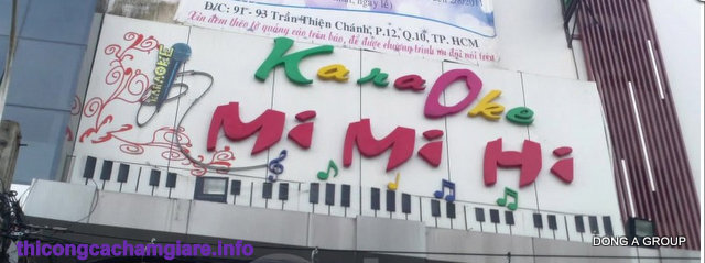 Thi công cách âm karaoke tại Bình Dương