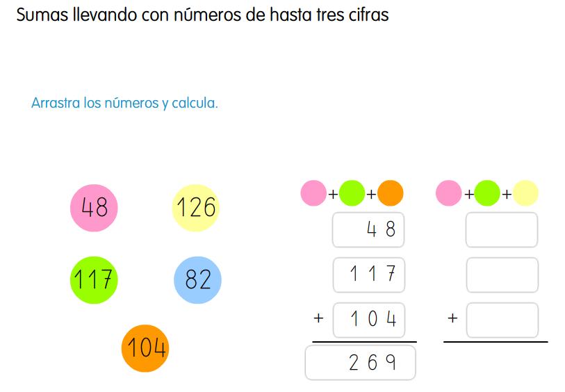 http://www.primerodecarlos.com/SEGUNDO_PRIMARIA/marzo/Unidad5/actividades/sumas_tres_sumandos_santi.swf