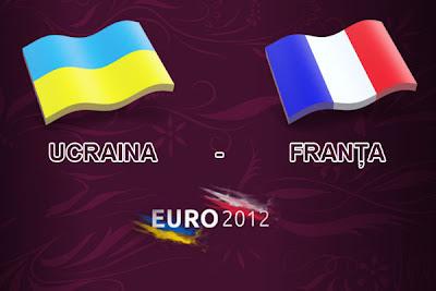 UCRAINA FRANTA EURO 2012 live online 15 iunie azi la Dolce Sport tv pe internet Campioantul european de fotbal Sopcast