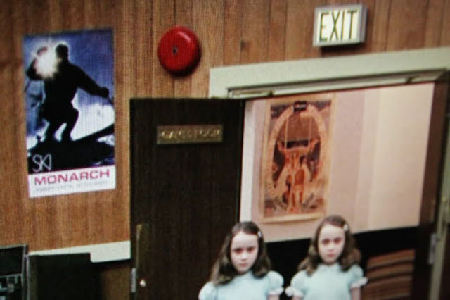minotaur poster in The Shining skiiing