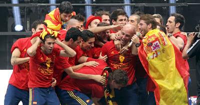 celebracion eurocopa españa cibeles