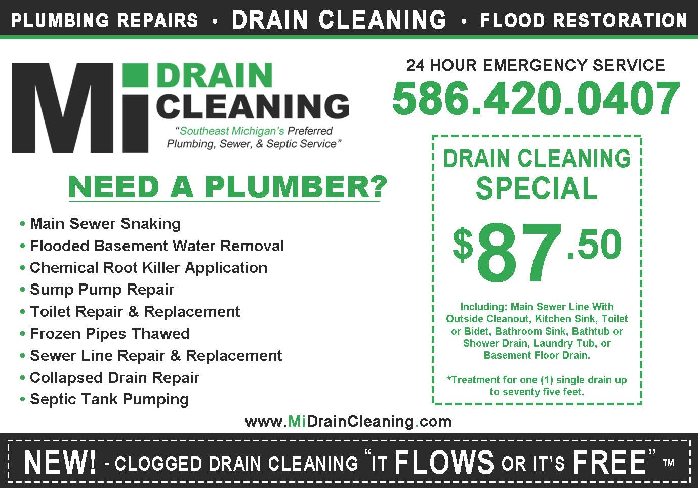 hablamos espaol ofrecemos nuestros servicios destapamos todo tipo de drenajes