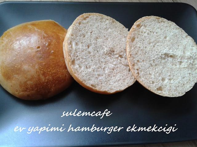tam bugday un karisimli hamburger ekmegi