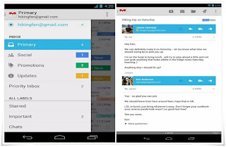 Gmail email client for android