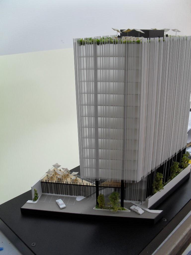 Maqueta edificio de oficinas - Edificio de oficinas ...