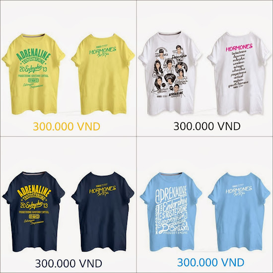 ORDER T-SHIRT Hormones The Series