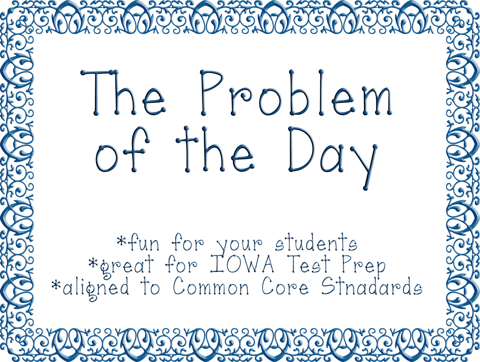 "Turn to Learn: The ""Problem of the Day"""