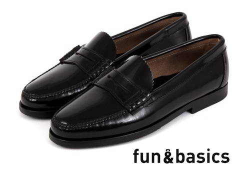 fun and basics, castellanos, mocasines, charol, negro, lacaprichossa