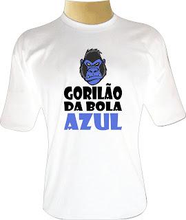 Camiseta Gorilão da Bola Azul