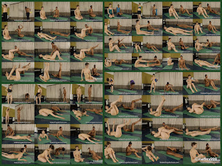 Naked Intermediate Pilates.