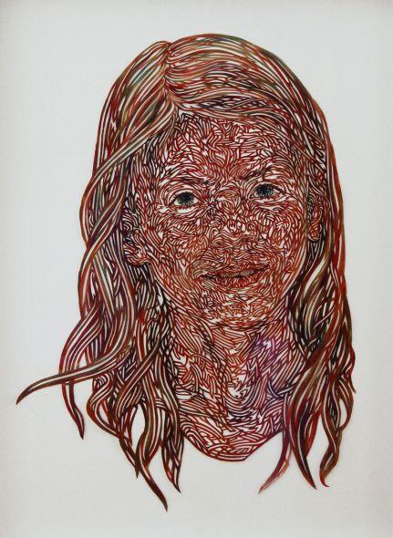 kuin heuff pinturas recortadas retratos vazados