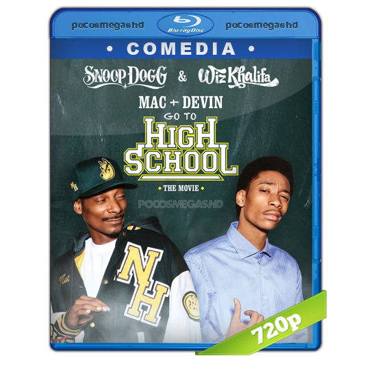 Mac and Devin Go to High School (2012) BRRip 720p Audio Dual Latino 5.1/Ingles