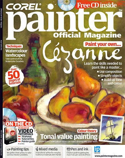 Corel Painter Magazine Issue 22