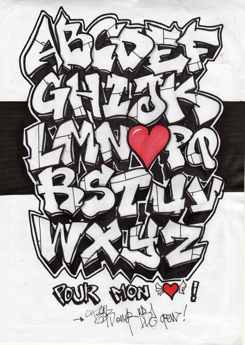 graffiti letters az best graffitianz