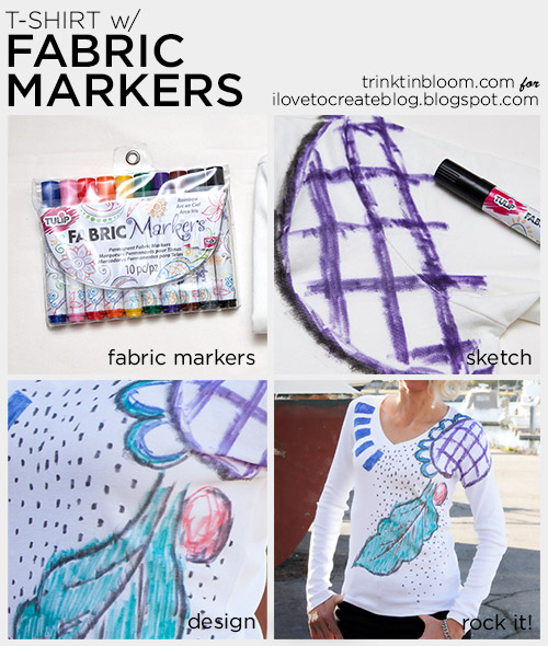 how to get marker out of fabric