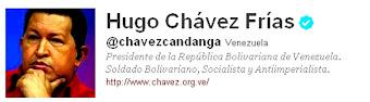 Sigue a Chávez en Twitter