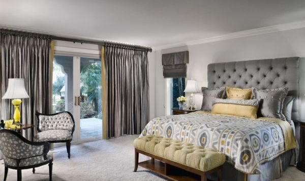 Habitaciones con estilo dormitorios matrimoniales en gris - Decoracion de habitaciones matrimoniales ...
